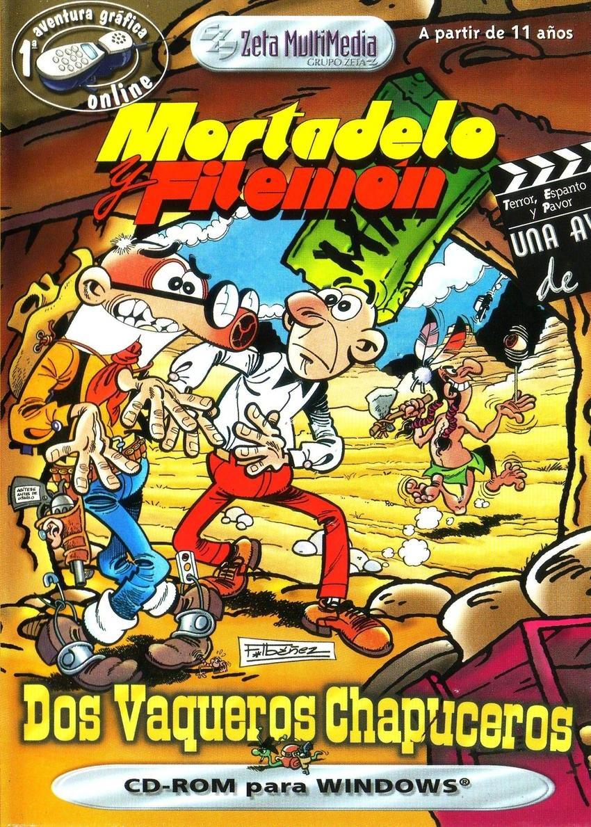 Programa 7x37 (18-07-2014) 'Especial juegos de comic' Dosvaqueros_caratula