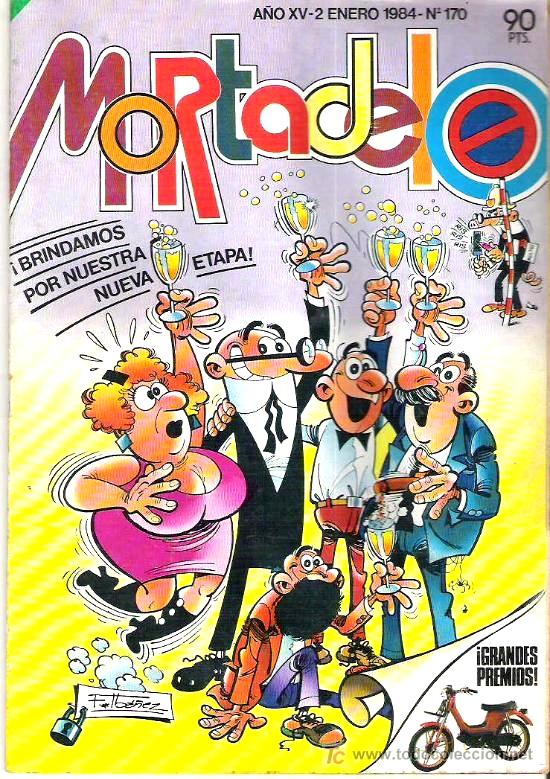 Mortadelo (Bruguera, 1984) - nº 170