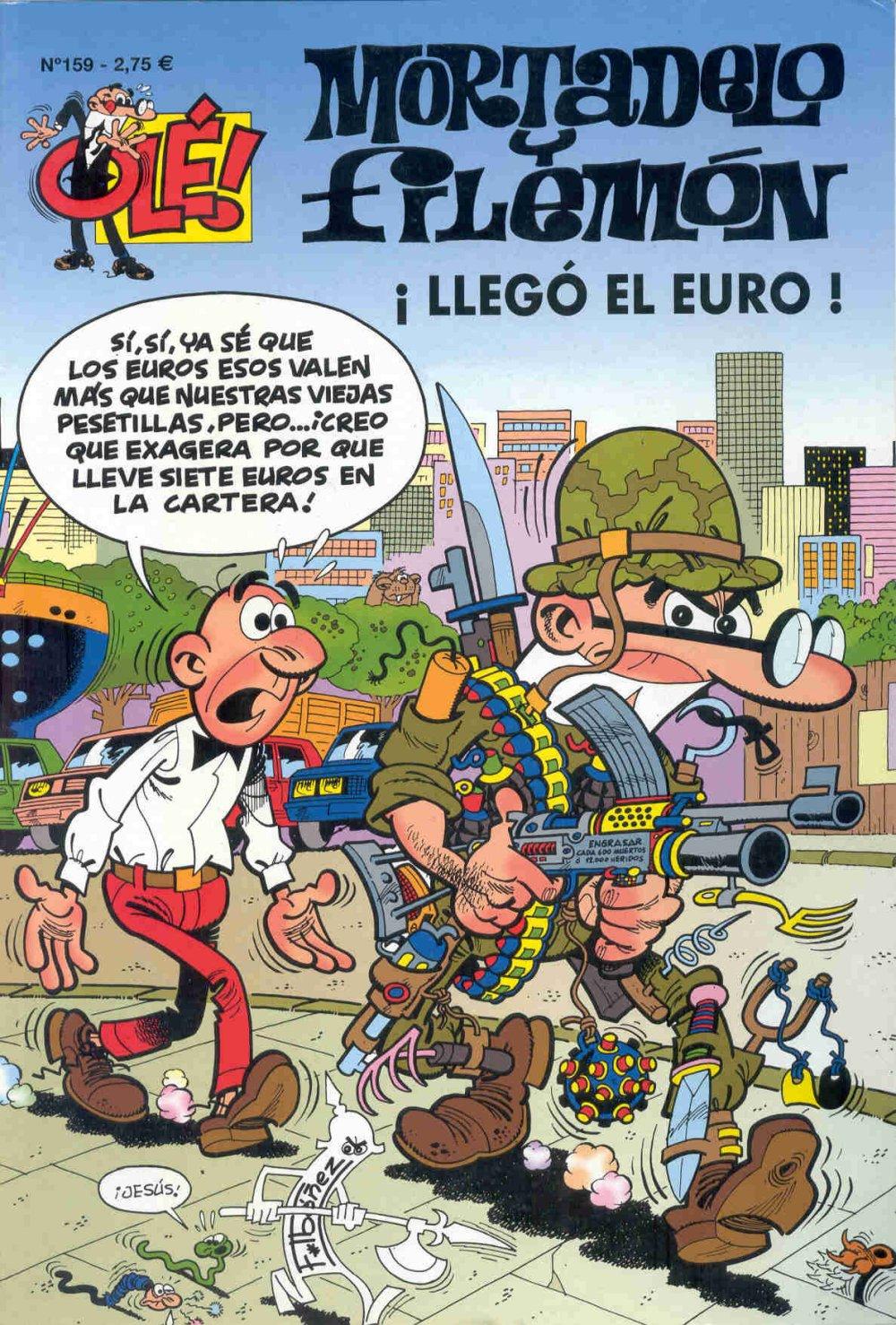 ¡Llegó el Euro! - Mortadelo y Filemón
